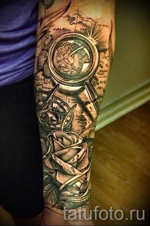 3д тату рукава - пример фотографии готовой татуировки от 02032016 9