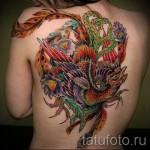 3д тату феникс - пример фотографии готовой татуировки от 02032016 1