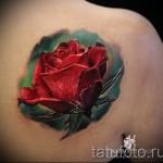 3д тату цветы - пример фотографии готовой татуировки от 02032016 1
