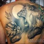 3D-Tätowierung Löwen - ein Beispiel für die fertige Tattoo Fotos von 02032016 1