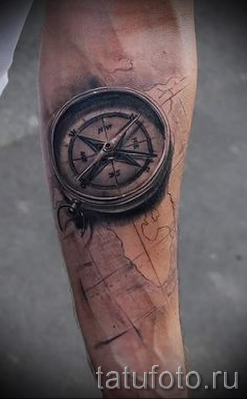 3D-Tätowierung auf seinem Unterarm - Beispielfoto des fertigen Tätowierung auf 02032016 2