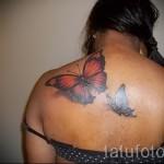 3D-Tattoo auf dem Rücken - ein Beispiel für die fertige Tattoo Fotos von 02032016 2