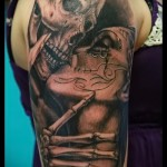 3d Tattoo Ärmel - Beispielfotos der fertigen Tätowierung 02032016 2