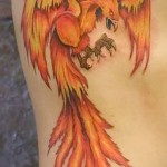 3d tatouage phoenix - Exemple photo du tatouage fini sur 02032016 1