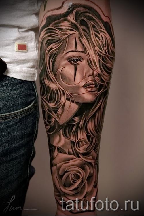 3d tatouage sur son avant-bras - Exemple photo du tatouage fini sur 02032016 2