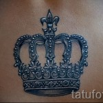 3d tattoo crown - an example of the finished tattoo photos from 02032016 1