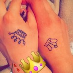 Tätowierung auf der Hand Krone - Bilder und Beispiele von 01032016 4