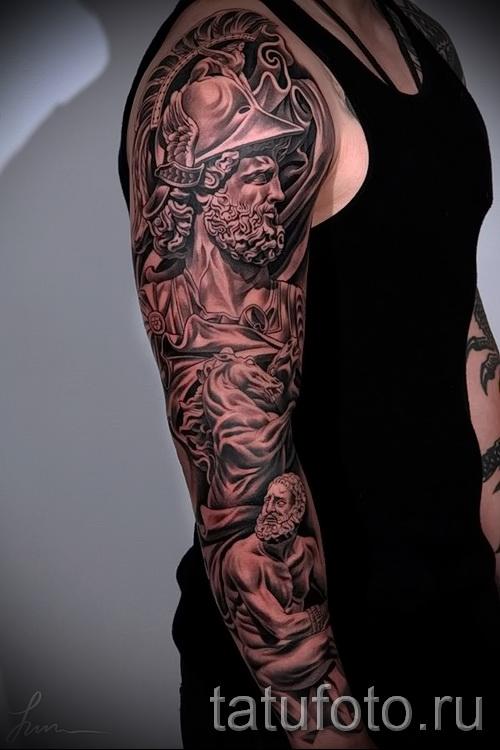 Tatouage manches 3d - exemples de photos de tatouage fini 02032016 3
