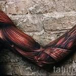 Tattoo-3D-Bilder male - Beispielfoto des fertigen Tätowierung auf 02032016 3