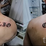 Tattoo-Namen in Englisch - Foto Beispiel des fertigen Tätowierung auf 06032016 1