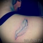 Weiß-Foto Farbe Tattoo - Foto einer Ausführungsform des fertigen Muster 29032016 1