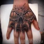 tatouage crâne sur la main - Photos et exemples de 01032016 3