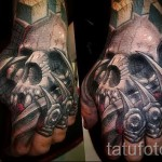 tattoo skull on hand - Photos and examples of 01032016 4