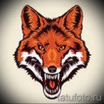 морда лисы тату эскиз - смотреть картинки от 25-04-2016 14