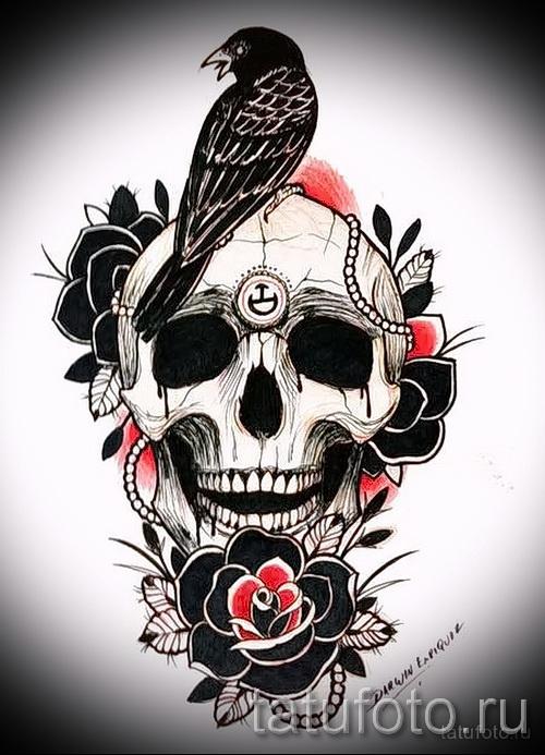 Татуировка олд скул фото