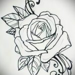 татуировки цветы эскизы - рисунки от 26-04-2016 5
