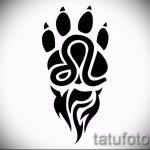 тату знаки зодиака лев эскизы - рисунки для татуировки от 29042916 3