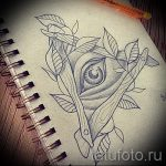 тату розы эскизы карандашом 3