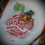 тату розы эскизы карандашом 5