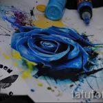 тату цветы эскизы акварель - рисунки от 26-04-2016 13