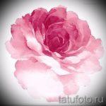 тату цветы эскизы акварель - рисунки от 26-04-2016 19