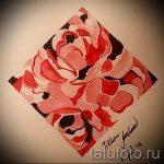 тату цветы эскизы акварель - рисунки от 26-04-2016 21