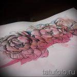 тату цветы эскизы акварель - рисунки от 26-04-2016 22