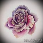 тату цветы эскизы акварель - рисунки от 26-04-2016 4