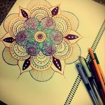 тату цветы эскизы цветные - рисунки от 26-04-2016 10