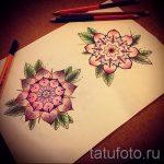 тату цветы эскизы цветные - рисунки от 26-04-2016 9
