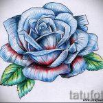 тату эскизы розы на боку - смотреть прикольную картинку 1
