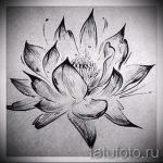 цветок лотоса тату эскизы - рисунки от 26-04-2016 12