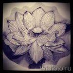 цветок лотоса тату эскизы - рисунки от 26-04-2016 13