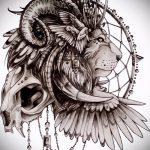 эскизы льва для тату - рисунки для татуировки от 29042916 2