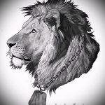 эскизы льва для тату - рисунки для татуировки от 29042916 3