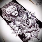эскизы льва для тату - рисунки для татуировки от 29042916 5