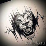 эскизы льва для тату - рисунки для татуировки от 29042916 7