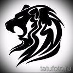 эскизы тату лев на предплечье - рисунки для татуировки от 29042916 2