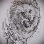 эскизы тату лев реализм - рисунки для татуировки от 29042916 1