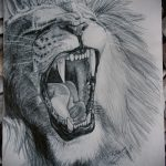 эскизы тату лев реализм - рисунки для татуировки от 29042916 2