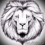 эскизы тату лев реализм - рисунки для татуировки от 29042916 5