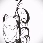 эскизы тату лиса на запястье - смотреть картинки от 25-04-2016 3