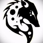 эскизы тату лиса черные - смотреть картинки от 25-04-2016 13