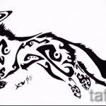 эскизы тату лиса черные - смотреть картинки от 25-04-2016 22