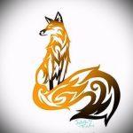 эскизы тату лисы для девушек - смотреть картинки от 25-04-2016 1