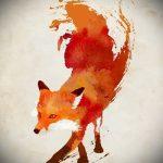 эскизы тату лисы для девушек - смотреть картинки от 25-04-2016 13