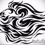 эскизы тату льва для девушки - рисунки для татуировки от 29042916 3