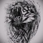 эскизы тату льва для девушки - рисунки для татуировки от 29042916 6