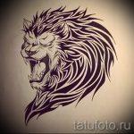 эскизы тату льва для мужчин - рисунки для татуировки от 29042916 4