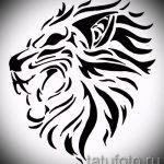 эскизы тату льва для мужчин - рисунки для татуировки от 29042916 7